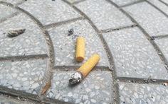 Thừa Thiên Huế: vứt tàn thuốc lá, tiểu tiện bừa bãi sẽ bị phạt tiền