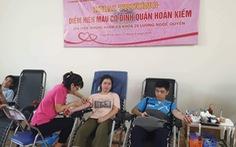 Khai trương điểm hiến máu cố định đầu tiên ở Hà Nội