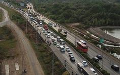 Nguy cơ kẹt xe nhiều hơn trên cao tốc TP.HCM - Long Thành - Dầu Giây