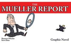 Báo cáo điều tra của ông Robert Mueller thành tiểu thuyết đồ họa
