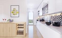 Tư vấn hoàn thiện nội thất căn hộ 3 phòng ngủ với kinh phí 200 triệu đồng