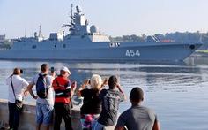 Tàu chiến Nga cập cảng Cuba, Mỹ theo dõi nhất cử nhất động