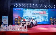 Nửa triệu chiếc xe xuất xưởng - dấu ấn Toyota