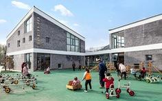 Trường mẫu giáo có kiến trúc như ngôi làng thu nhỏ ở Trung Quốc