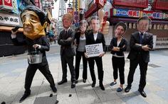 'Các nhà lãnh đạo G20' xuống đường biểu tình ở Osaka
