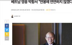 HLV Park trả lời báo Hàn: Tôi không làm gì gây sức ép để được tăng lương