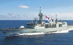 Tiêm kích Trung Quốc vờn 2 tàu chiến Canada vừa thăm Việt Nam