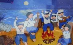 Ước mơ xúc động của trẻ em qua tranh vẽ Hoàng Sa, Trường Sa