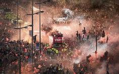 Biển người hơn 750.000 người đón Liverpool ca khúc khải hoàn