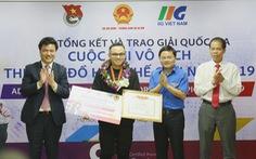 Thí sinh TP.HCM đoạt quán quân 'Vô địch thiết kế đồ họa'