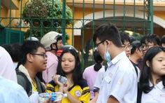 Học sinh thích thú 'đối thoại tỉ phú' trong đề thi chuyên văn TP.HCM