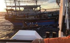 Bộ GTVT đề nghị Bộ Quốc phòng hỗ trợ tìm kiếm 9 ngư dân mất tích