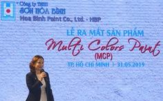 Công ty Sơn Hòa Bình ra mắt sản phẩm mới sơn MCP