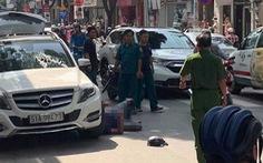Hơn 20 người vây đánh 3 người đi xe hơi trên đường Lê Văn Sỹ, 2 người bị thương