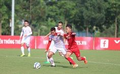 U23 Việt Nam bị Viettel cầm hòa không bàn thắng