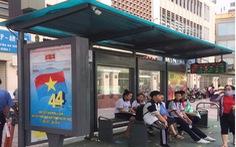 Nhà chờ xe buýt hiện đại bậc nhất TP.HCM sử dụng điện mặt trời