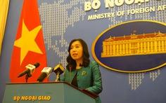 Việt Nam trao công hàm phản đối Trung Quốc huấn luyện quân sự trái phép ở Hoàng Sa