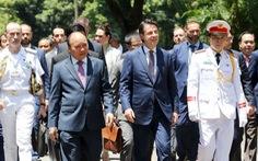 Thủ tướng Conte: 'Việt Nam là ưu tiên của Ý'