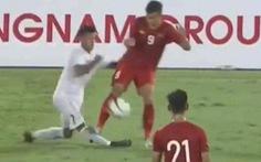 Video tiền vệ Nguyễn Trọng Huy suýt hủy hoại sự nghiệp đối thủ