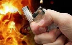 Mê cá độ, chồng bị vợ tưới xăng đốt bỏng nặng