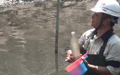 Sông Tô Lịch giảm ô nhiễm sau 3 tuần xử lý bằng công nghệ Nhật Bản