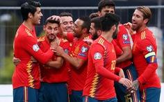 Tây Ban Nha đè bẹp Đảo Faroe ở vòng loại Euro 2020