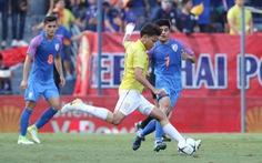 Thua Ấn Độ 0-1, Thái Lan trắng tay ở King's Cup 2019