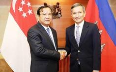 Ngoại trưởng Campuchia và Singapore điện đàm, thống nhất gác lại quá khứ