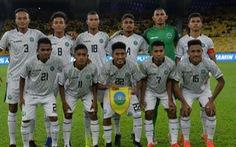 Cầu thủ nhậu nhẹt khiến Timor-Leste thảm bại 1-7 trước Malaysia