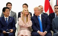 Ivanka Trump nổi bật trong chuyến công du châu Á của cha