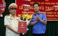 Viện Kiểm sát nhân dân TP.HCM có lãnh đạo mới