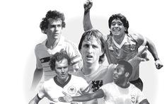 'Ngũ đại tông sư' thế giới bóng đá: Chỉ mình Cruyff là 'thánh'