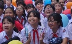 TP.HCM: học sinh tựu trường ngày 1-9