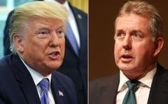 Đại sứ Anh tại Mỹ từ chức sau vụ bản ghi nhớ mật bị rò rỉ