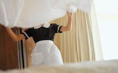 Gắn chip cho drap giường, khăn tắm để thu hút khách
