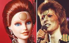 Búp bê Barbie có thêm tạo hình David Bowie