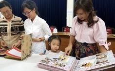 Khi cả nhà cùng dành tình yêu cho sách, cho Sài Gòn