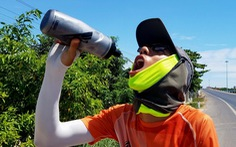 Chạy xuyên Việt 'cùng' Thiện Nhân