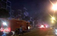 Chợ bị cháy trong đêm, 45 kiốt bị thiêu rụi