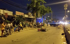 Tông dải phân cách, một người đàn ông đi xe máy chết tại chỗ