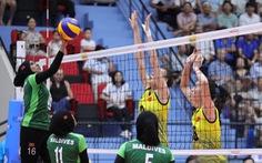 Bóng chuyền nữ U23 Việt Nam - U23 Maldives: cứ giao bóng là có điểm