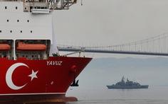 Nói là làm, EU trừng phạt Thổ Nhĩ Kỳ vì kéo giàn khoan dầu ra biển Cyprus