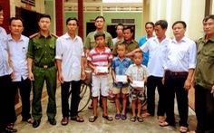 Được tìm thấy cách nhà 90km, ba bé trai nói 'bị bắt cóc'