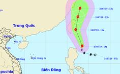 Xuất hiện bão Danas gần Biển Đông, gió giật cấp 10