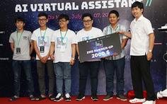 ĐH Duy Tân đoạt giải nhì tại Hackathon Vietnam AI Grand Challenge 2019 miền Trung
