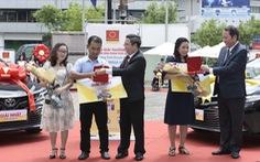 Trao thưởng chương trình 'Mua ống nhựa Hoa Sen - Trúng ôtô Camry'