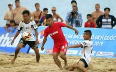 Bóng đá bãi biển vô địch quốc gia 2019 khai mạc sôi động ở Nha Trang
