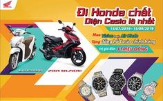 Rinh quà hấp dẫn cùng Honda VISION 110cc và Air Blade 125cc