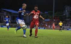 Nam Định, Quảng Ninh cùng có ba điểm ở vòng 16 V-League