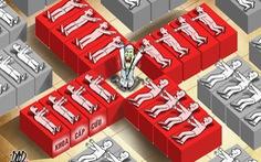 Biếm họa 'cấp cứu' cấp cứu vì quá tải